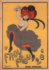 Vintage poster - Le Frou Frou, journal humoristique, poster by Leonetto Cappiello